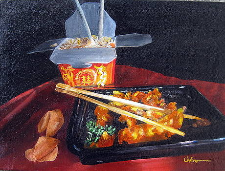 Chinese Take Out by LaVonne Hand