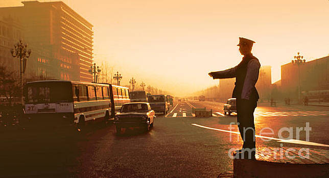Chinese Traffic Director Ver 1 by Larry Mulvehill