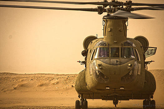 Chinook 2 by Michael Carrigan