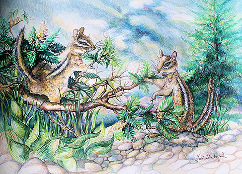 Chipmunks by Linda Shackelford