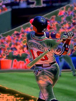 Chipper Jones by Rod Kaye