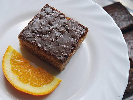Chocolate and orange by Marija Djedovic