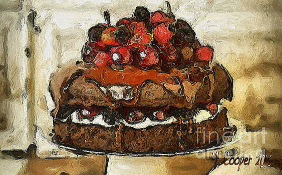 Chocolate Cake by Max Cooper