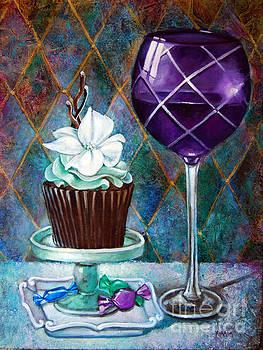 Chocolate mint Cupcake by Geraldine Arata