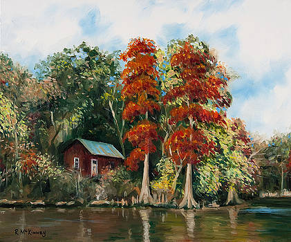 Choctawhatchee River Camp by Rick McKinney