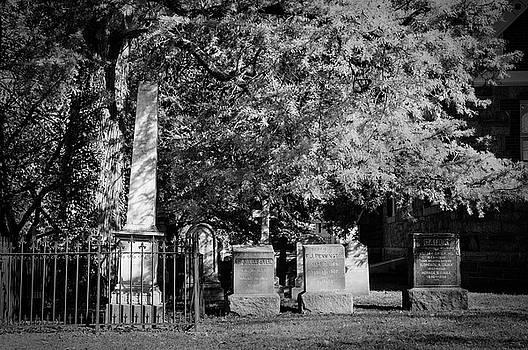 Christ Church Graveyard by Mick Burkey