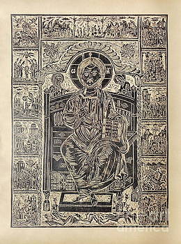 Christ Pantocrator by Milen Litchkov