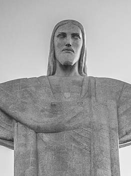 Christ the Redeemer in black and white by Daniel Precht