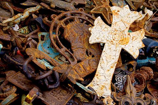 Christian Cross by Rob Byron