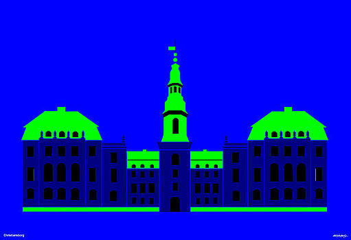 Christiansborg Palace by Asbjorn Lonvig