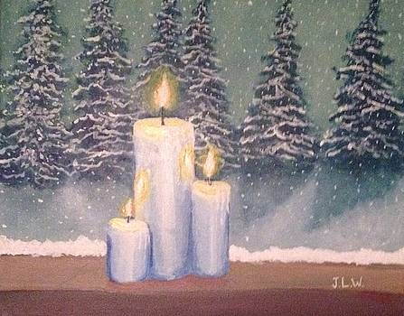 Christmas by Candlelight by Justin Lee Williams