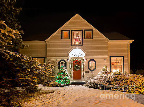 Christmas House by Verena Matthew