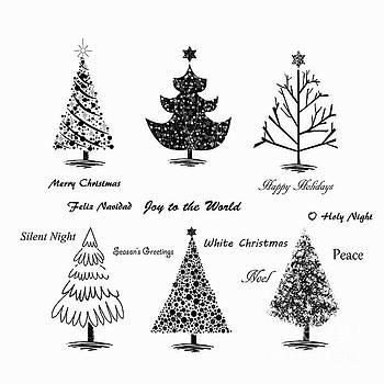Christmas Illustration by Stephanie Frey