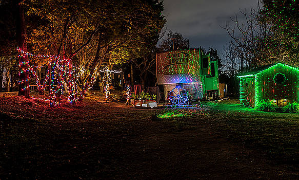 Christmas In The Woods by Bob Marquis