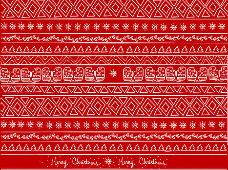 Christmas Pattern by Mischa