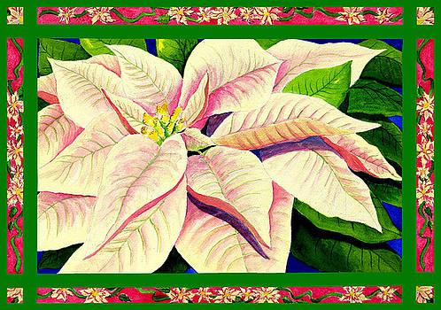 Christmas Poinsettia by Janis Grau