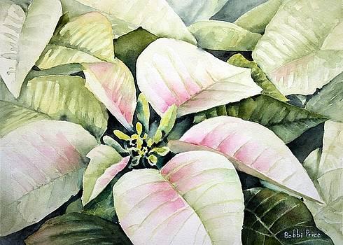 Christmas Poinsettias by Bobbi Price