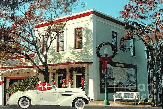 Christmas Shopping in Georgetown, Texas  by Janette Boyd