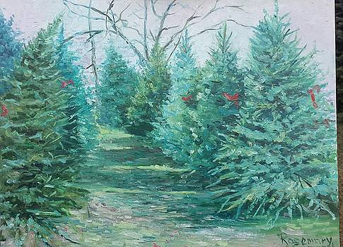Christmas Tree Lot by Rosemary Kavanagh