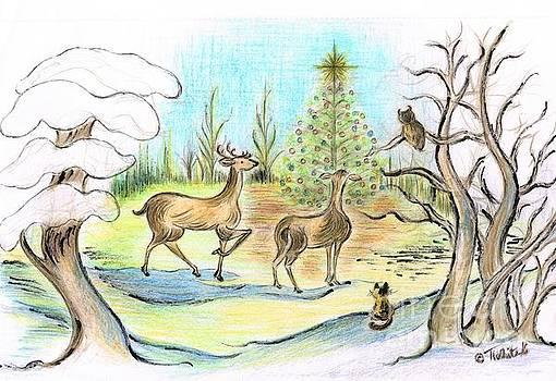 Christmas Tree Star  by Teresa White