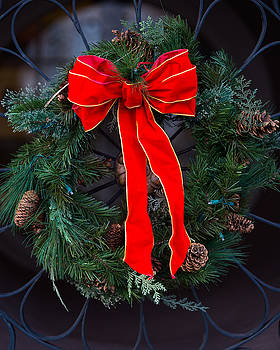 Christmas Wreath by Brent Paape