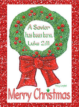 Christmas Wreath by Tracy Campbell
