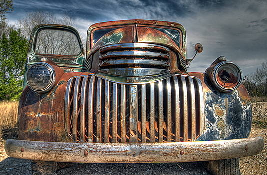 Chrome And Rust by Terry Hollensworth-Rutledge