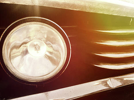 Chrome Grill and Headlight by Kelly Hazel