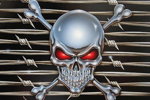 Chrome Skull by Terry Stephens