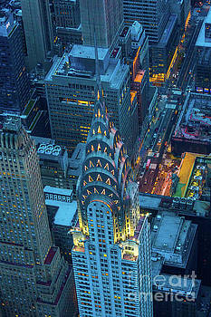 Chrysler Building by Inge Johnsson