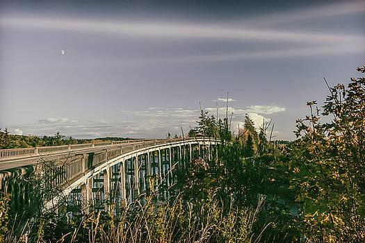 Chuckanut Bridge by Monte Arnold