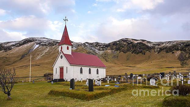 Church at Reynir South Iceland by Chris Thaxter