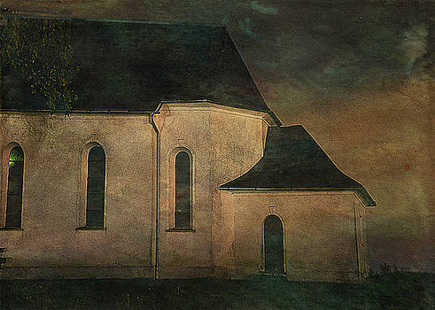 Church at Twilight by Sarah Vernon