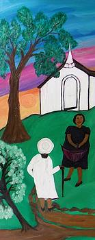 Church Ladies  by Mildred Chatman