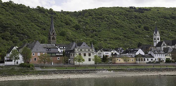 Teresa Mucha - Church Steeples in Kamp Bornhofen Germany