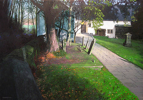 Harry Robertson - Churchyard in South Wales.