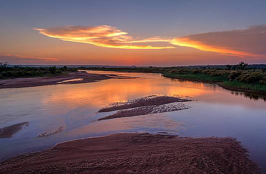 Cimarron River by Mark McDaniel