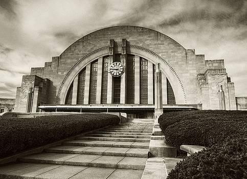 Mel Steinhauer - Cincinnati Union Terminal Time Sepia Tone