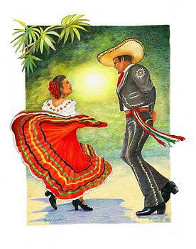 Cinco de Mayo Dancers by Marilyn Smith