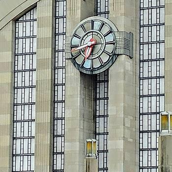 Cincy Terminal Clock by Kathy Barney