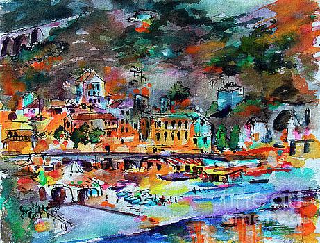 Ginette Callaway - Cinque Terre Monterosso At Night