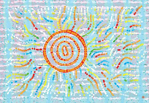 Circle Rays by Gary Grayson