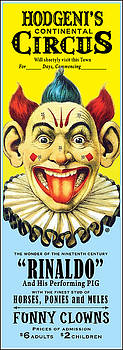 Circus Poster by Gary Grayson