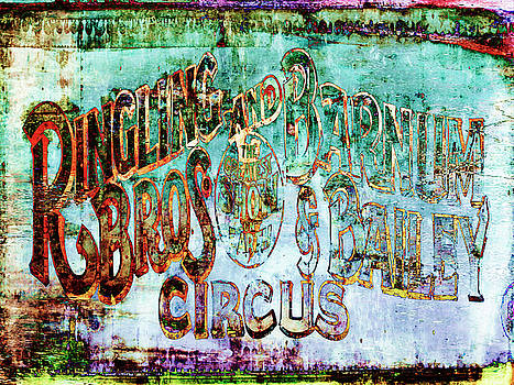 Circus Sign by Skip Nall