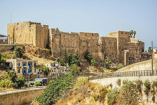 Citadel of Raymond de Saint Gilles near Tripolis by Amalmc