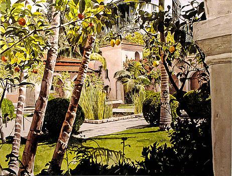 David Lloyd Glover - Citrus Courtyard
