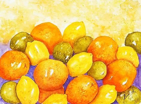 Citrus Juice by Lucia Del