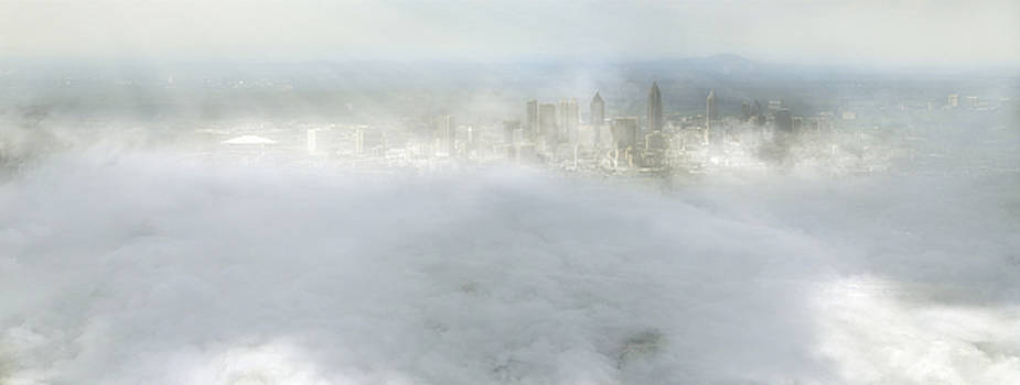 Jason Politte - City Amongst the Clouds - Jacksonville - Florida - Landscape