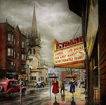 City - Amsterdam NY - Life begins 1941 by Mike Savad