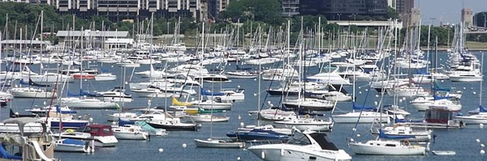 City Boats II by Anna Villarreal Garbis